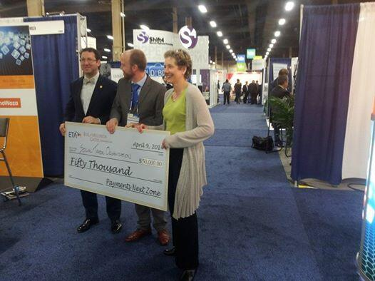 ePay Innovation Award Cheque